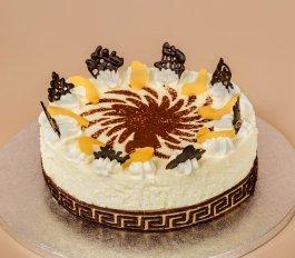 Őszibarackos túró torta